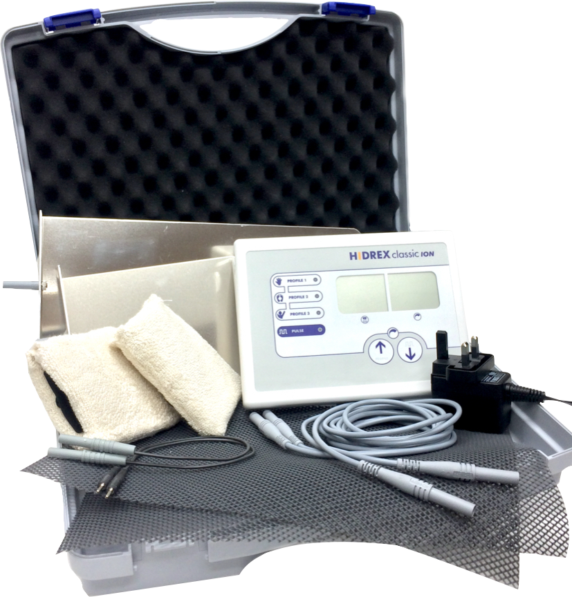 Hidrex ClassicION Iontophoresis Machines distributed by Avanor Healthcare UK