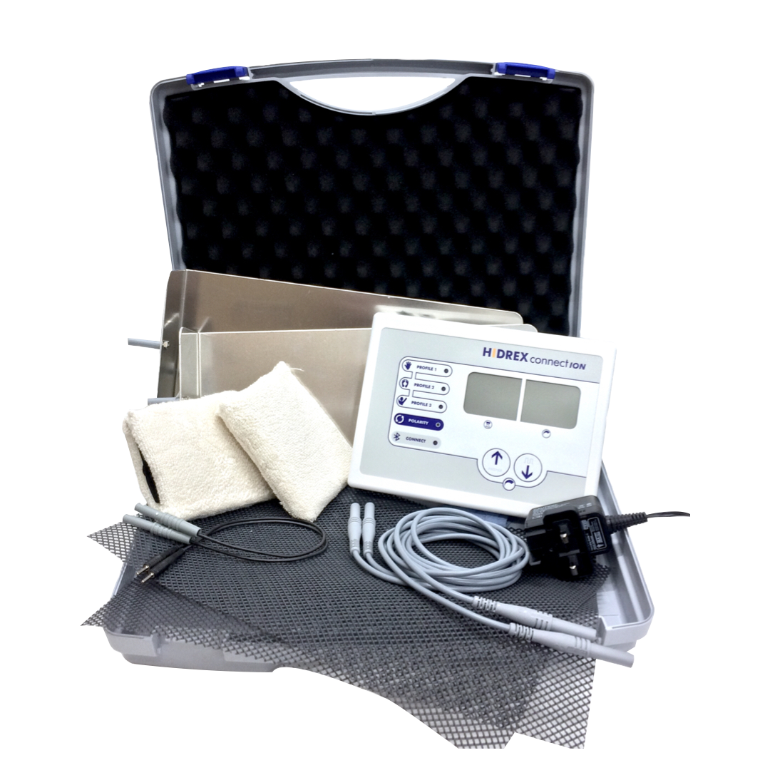 Hidrex ConnectION Iontophoresis Machines distributed by Avanor Healthcare UK